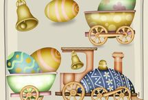 CU Digitals: Easter - Digi Scrap Resource / CU Easter digital designs for Commercial Use #digitalscrapbooking #photoshop, #digiscrap. Get CU graphic holiday scrapbooking and craft supplies at CUdigitals.com