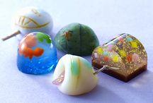 Japanese Sweets / Wagashi 和菓子, Higashi 干菓子, Mochi 餅, Shaved Ice かき氷, etc. / by Jeannie