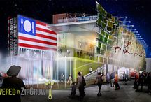 USA Pavilion 2015: Powered by ZipGrow / ZipGrow towers will make up the World's LARGEST Living Food-Producing Wall this year at the 2015 World Fair U.S. Pavillion.