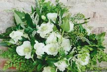 Emerald & White Wedding Inspiration