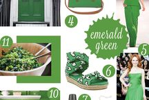 Emerald Green / by Eat Breathe Live Color | Zoe