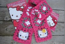 hello kitty block crochet