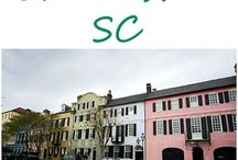 Travel South Carolina / #travel #inspiration all over #SouthCarolina #citytrips #roadtrips #sightseeing and more