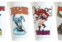 Slurpee Cups! / Gotta slurp them all! Check out more classic comic book goodness at www.longboxgraveyard.com
