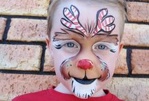 christmas face painting!!!