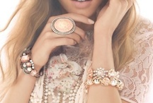 Fashion: Vintage, Sparkly and Dreamy / Spring fashion, Vintage, Pastels, Dreamy, sparkly, chiffon, lace, ruffles, embellishments.....