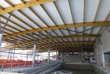 Glulam Structures NZ / Timber Engineered Buildings using Glulam in New Zealand