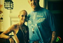 The Undertaker with his wife Michelle McCool