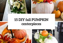 Thanksgiving Centerpieces and Tablescapes