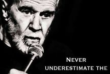 George Carlin / by Chris Merrill