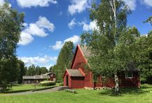 Turkansaari Open-Air Museum / The island of Turkansaari, situated on the Oulujoki river about 14 km east of Oulu, Finland. Photos: Mauri Kuorilehto (25.7.2015).