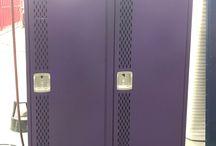 Leo HS Ph1 - Leo, IN #DeBourgh #Lockers / #Corregidoor #PurpleFig #SentryTwoLatch #DiamondPerforation #PianoHinge #ThatColorThough #DeBourghMadeSon #DeBourgh #Lockers