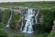 Ettipotala Waterfalls / Ethipothala Falls is a 70 feet (21 m) high river cascade, situated on the Chandravanka river, a tributary of the River Krishna