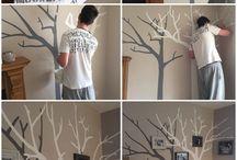 Trees on walls