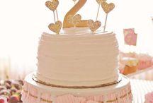 Shabby Chic Valentine's 2nd birthday party!