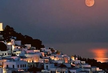 Patmos - Greeece / Beautiful Island and special that John the Divine wrote the book of Revelations on this island.