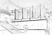 Arc_Viz-Sketches / Architectural Visualization - Hand Drawn Sketches, Digital Paintings, Illustrations... / by Lin Santos