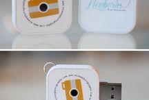 USB's / by Martha Cuello