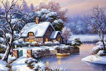 winter peisage