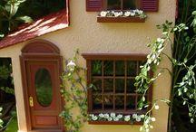 Tuscan dollhouses