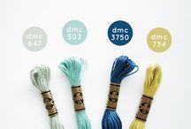 DMC színek - kódok