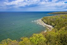 """Nature / As the """"gateway to Peninsula State Park"""" (one of Wisconsin's two """"Crowned Jewel"""" state parks), Fish Creek is the ultimate place to enjoy the beautiful scenery of Door County."""