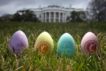 Easter  / Egg hunts, dinners with family and enjoying the parades. A reminder of spring renewal and a time to spend with family.