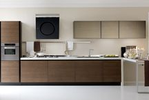 diseños cocinas lineales