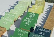 Escort Card and Seating Ideas / Escort card ideas for your wedding or special event