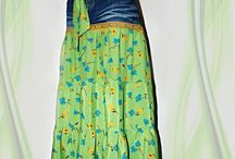 Maxi sukně a šaty