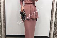model elbise