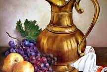 jarro con frutas