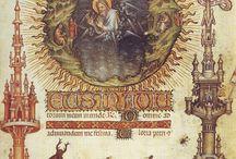 средневековья роспись