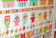 Quilting - Rows / Quilts with blocks or panels assembled in horizontal and/or vertical rows