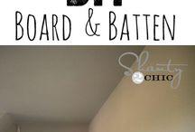 Batten board