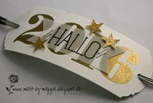 stampin up Silvester