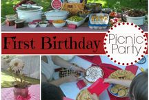 Darcys 1st Birthday - Picnic in the Park