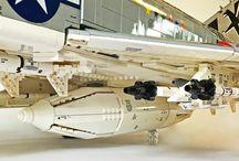 самолёты лего