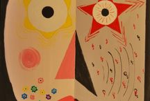 Handmade / pictura abstracta in acrilic