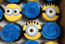 sweets design minions