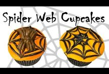Halloween Baking Tutorials / Video tutorials for making spooky Halloween cakes, cupcakes, cake pops, and other desserts.
