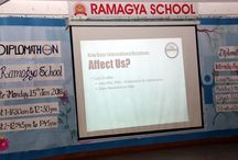 Workshop on Diplomathon was held at Ramagya School on15th January, 2018.