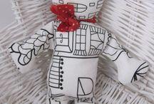 Homemade & handmade / moje výrobky, hračky a restaurování