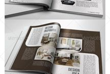 Editorial/Magazine Template / Editorial/Magazine Template Collection