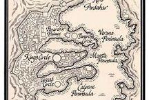 Maps in books