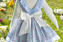 Vestido infantil / Vestidos infantil confeccionados com tecido importado dos EUA de algodão 100%. Peças exclusivas e únicas, confeccionadas manualmente, com toque vintage.