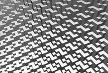 patronen / Een regelmatig structuur Een structuur die zich blijft herhalen.
