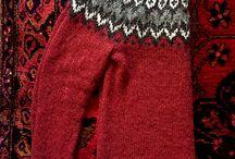 Strikke - Gensere, jakker, sokker og annet.