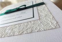 zaproszenia i dodatki ślubne/ wedding invitations / ręcznie robione zaproszenia i dodatki na ślub, wesele inne okoliczności. www.na2pietrze.pl