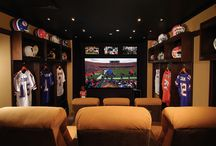 """Man Caves / Get ideas for how we can help you create your dream """"man cave"""""""